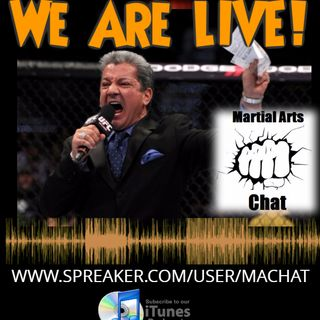 Martial Arts Chat LIVE