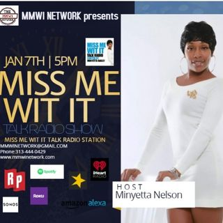 Talk To Me Tuesdays w/ Minyetta Nelson 12-29-2020