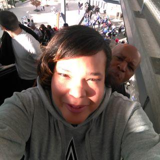 Kay Newton and Jamal Bonner