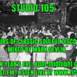 Studio 105 4-Hour Soulful Disco Mix, First FM, 31/12/19