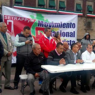 Protestarán taxistas contratransporte individual de pasajeros