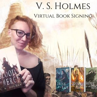 BONUS EPISODE: V. S. Holmes Virtual Signing with Toadstool Books