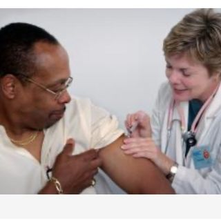 Vaccines and Black People with Pebbles