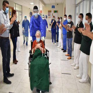 A sus 97 años, Doña Leonor le gana la batalla al Covid-19