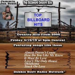 Billboard Top Country Music Hits of 2000 3-15-19