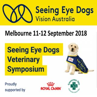 Seeing Eye Dogs Veterinary Symposium 2018 - Dr Nicola Cotton