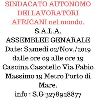 ASSEMBLEE GENERALE SYNDICAT AUTONOME DES TRAVAILLEURS AFRICAINS