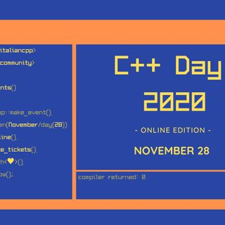 Virtual C++ Day 2020 con Marco Arena
