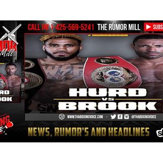 👀Jarrett Hurd vs Kell Brook Next⁉️Eddie Hearn Co-Signs Idea⁉️🔊🔥
