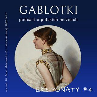18. EKSPONATY #4: Jacek Malczewski, Portret narzeczonej, 1887, MNK