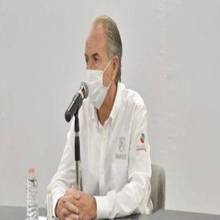 Gobernador de SLP, regresa a actividades