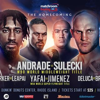 Preview Of The Huge Dazn Card Headlined By Demetrius Andrade-Maciej Sulecki For The WBO Middleweight Title Plus A Stacked Undercard!!!
