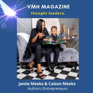 Mother and Son Duo, Jamie and Caison Meeks, Inspire Self-Love in New Children's Book