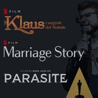 #12 - Gli OSCAR tra KLAUS, PARASITE e MARRIAGE STORY
