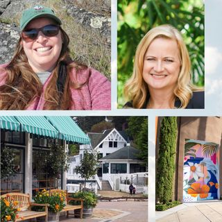 Costa Mesa to San Juan Islands - Jenny Wedge and Amy Nesler on Big Blend Radio
