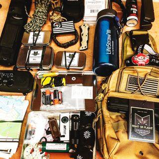 Kit de suministros de supervivencia para un apocalipsis o pandemia EP8