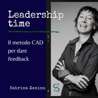 Il metodo CAD per dare feedback