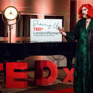 A queer journey from shame to self-love | Crystal Rasmussen