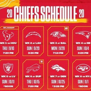KC Kingdom Radio: Breaks Down The Chiefs 2020-21 Schedule