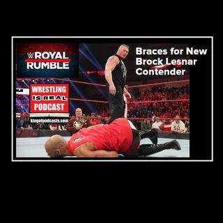 Royal Rumble 2020 Braces for New Brock Lesnar Contender KOP012320-511