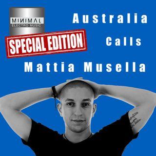 MINIMAL ELECTRO MUSIC - 16/02/2020 - #2 - special edition - AUSTRALIA CALLS MATTIA MUSELLA