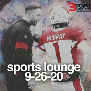 The 3 Point Conversion Sports Lounge- Is College Football Back, (NBA) Can Boston and Denver Come Back, Wentz Days Numbered (?), MLB Playoffs