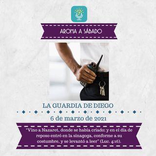 6 de marzo - La guardia de Diego - Devocional de Jóvenes - Etiquetas Para Reflexionar