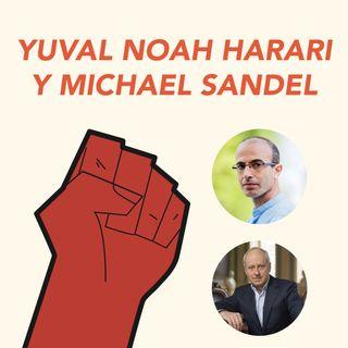 Conferencia Yuval Noah Harari y Michael J. Sandel