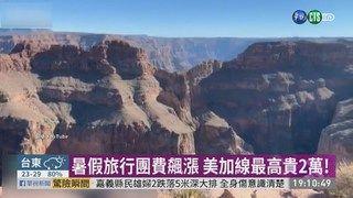 20:25 暑假旅行團費漲 美加線最高貴2萬 ( 2019-05-29 )