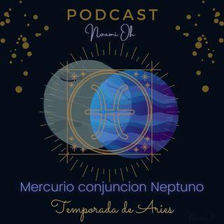 Mercurio conjunción Neptuno