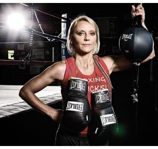 Former Boxing Champ Turned Coach Terri Moss