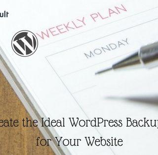 WordPress Backup Schedule