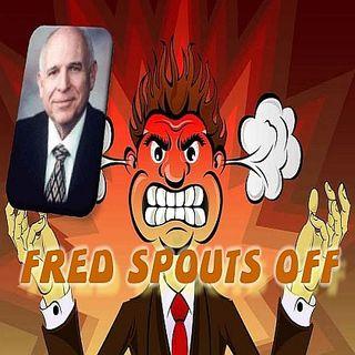 Fred Claridge Spouts Off