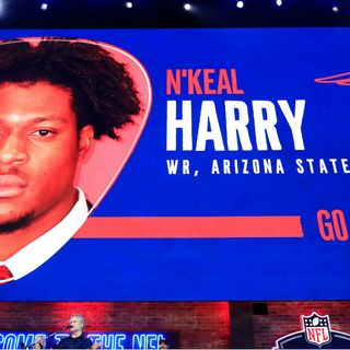 New Draft Pick N'Keal Harry Can't Wait To Play For Patriots