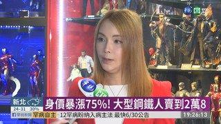 """19:41 """"復仇者4""""票房熱賣 公仔身價飆漲75% ( 2019-04-27 )"""