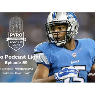 Pyro Light Fantasy Football Podcast – episode 59 – Week 17 – NFL 2016