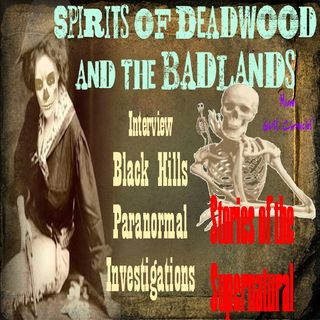 Spirits of Deadwood & The Badlands | Interview w/ Black Hills Paranormal | Podcast