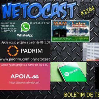 NETOCAST 1144 DE 29/04/2019 - BOLETIM DE TECNOLOGIA