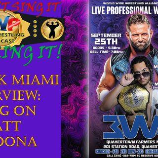 Merrick Miami Interview - Bring on Matt Cardona