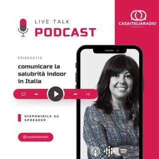 BM - Puntata n. 113 -  Comunicare la salubrità indoor in Italia