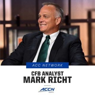 Former CFB Coach Mark Richt of the ACC Network Jan 9