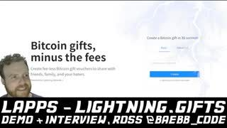 LAPPS - lightning.gifts, Demo + Interview with Ross @baebb_code