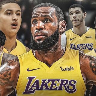 LeBron James signs a 4-year deal with the LOS ANGELES LAKERS!!