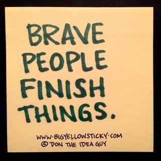 Brave Finish : BYS 086
