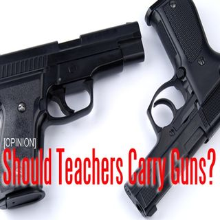 jazz in the am, should teachers carry guns discussion