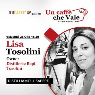 Lisa Tosolini: Distilliamo il sapere