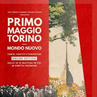Primo Maggio 2020 - Arci Torino e Comunet Officine Corsare