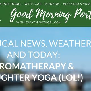 A good laugh on Good Morning Portugal!