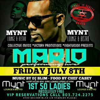 Mario at Mynt Lounge and Bistro