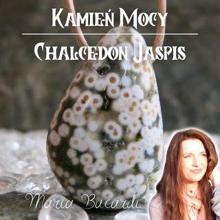 Chalcedon Jaspis Oceaniczny - leczenie raka, cysty, mięśniaków, łuszczycy - litoterapia | Maria Bucardi